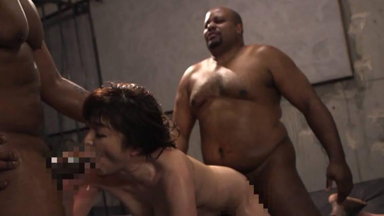 熟女と黒人…2