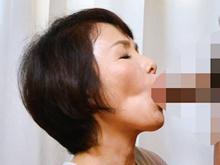 妻よりも上手な義母のフェラチオ 婿のペニスを頬張る姑の尺八